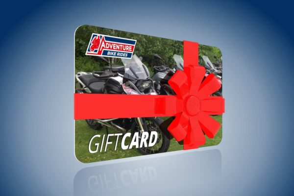 Adventure bike rides gift cards