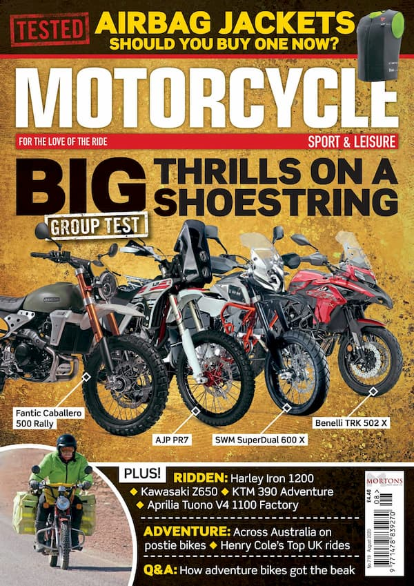 Adventure Bikes Rides to appear in Motorcycle Sport and Leisure Magazine